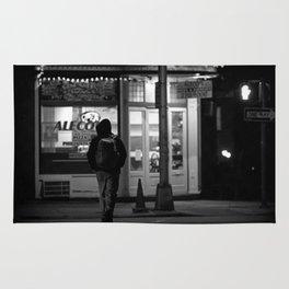 Harrisburg PA Street Photo Rug