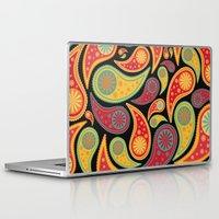 bohemian Laptop & iPad Skins featuring Bohemian Paisley  by Digi Treats 2