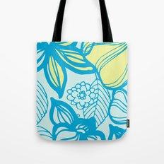 Oceanic Floral  Tote Bag