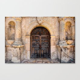 The Alamo Mission - San Antonio Fine Art Canvas Print