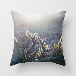 Arizona Cactus Throw Pillow