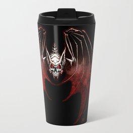 Thee Vampire Guild Bat Icon Travel Mug