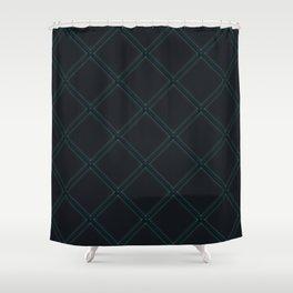 Power Grid Shower Curtain