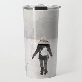Winter Walk Travel Mug