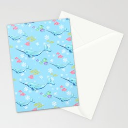Narwhal and Friends Stationery Cards