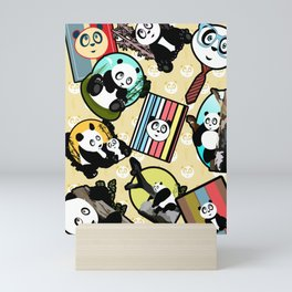 Panda Mix Mini Art Print