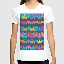 Hanukkah Menorah Pattern 2 T-shirt