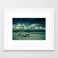 alaska Framed Art Prints featuring Alaska by Paweł Kotas