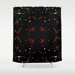 Telemetry Shower Curtain