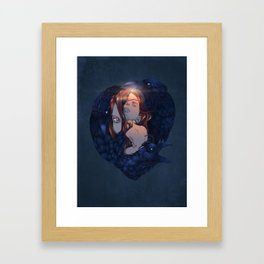 Dead Dreamer - Brenna Whit Framed Art Print