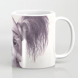 Papillon Knight - Medieval Dog Coffee Mug