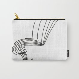 Lines That Fall Carry-All Pouch