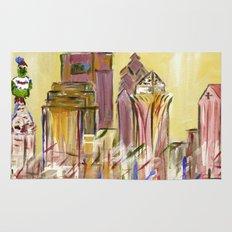 Philadelphia Skyline Rug