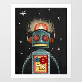 Toy Robot Art Print