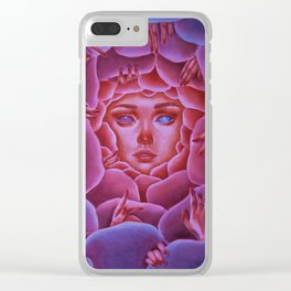 Inner demons Clear iPhone Case