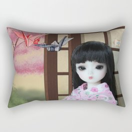 ** Meiling is going to spend Saturday making her favourite hobby: Origami animals. ** Rectangular Pillow