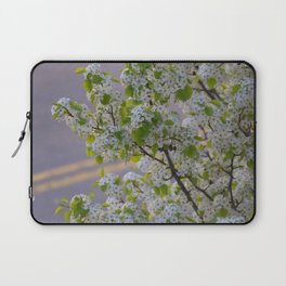 Blossoms on Third Avenue Laptop Sleeve