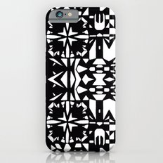 Black and White Square 3  iPhone 6s Slim Case