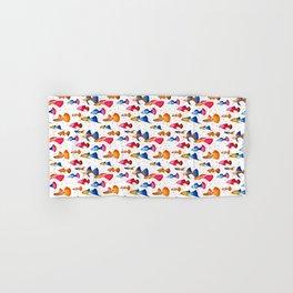 Guppy fish WHITE Hand & Bath Towel
