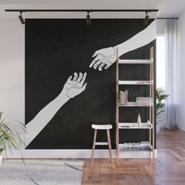 Find me among the stars Wall Mural