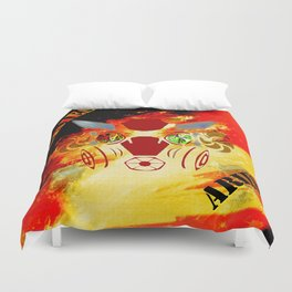 Birth Sign Aries Duvet Cover