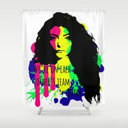 Lorde's Team Shower Curtain