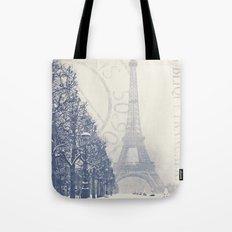 De La Tour Eiffel Tote Bag