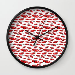 RJ's racecars Wall Clock