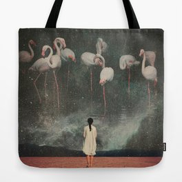 Hanging on to a Dream Tote Bag