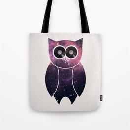 Owl Night Long Tote Bag