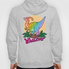 Moody Dinosaur (rainbow) Hoody