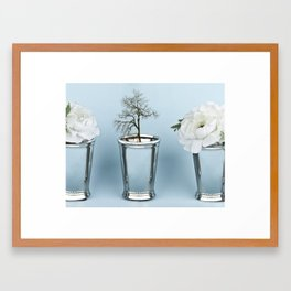 grow.  Framed Art Print