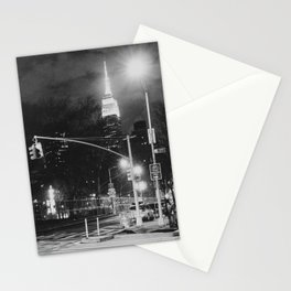 New York City Nights Stationery Cards