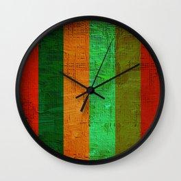 oil paint pattern Wall Clock