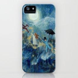 An Awfully Big Adventure - Peter Pan - Nursery Decor iPhone Case