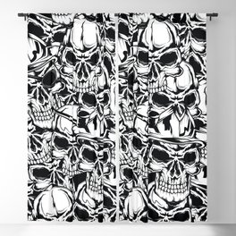 Pirate - Black - Pirate Blackout Curtain