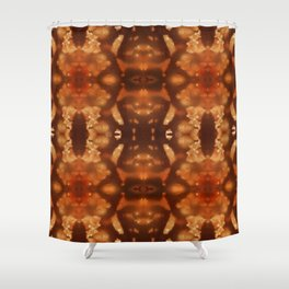 Amber Bead Shower Curtain