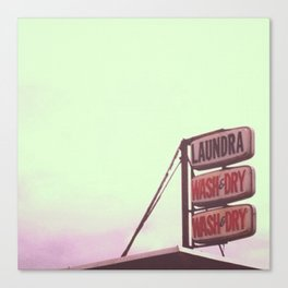 laundra  Canvas Print