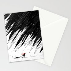 Geometric Storm Stationery Cards
