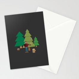Work Proud Lumberjack Stationery Cards