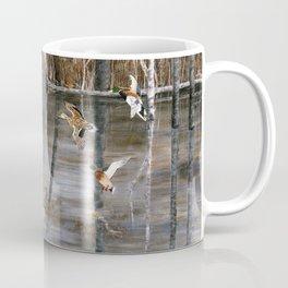 Winter Mallards Coffee Mug