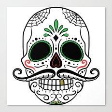 Day of the Dead Sugar Skull Canvas Print