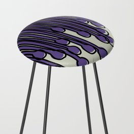 Running to you Ultra Violet Counter Stool