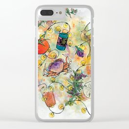 Pacific Northwest Summer Clear iPhone Case