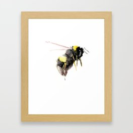 Bumblebee, bee art, bee design Framed Art Print