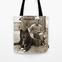 friendship Tote Bags featuring Friendship by Seamless