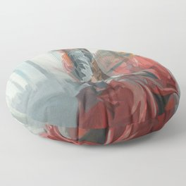 Holy Family (Red Riding Hood) Floor Pillow