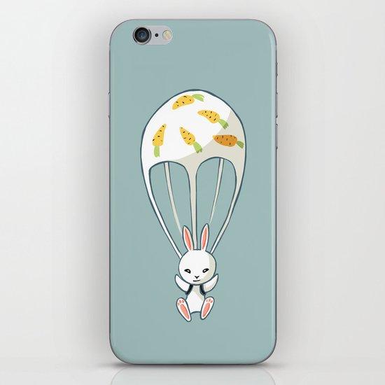 Parachute Bunny iPhone & iPod Skin