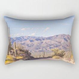Down Desert Roads, IV Rectangular Pillow