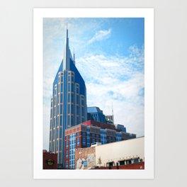 Nashville, Tennessee Art Print